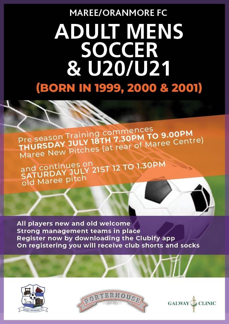 U21 20pre season