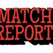 Match report 2