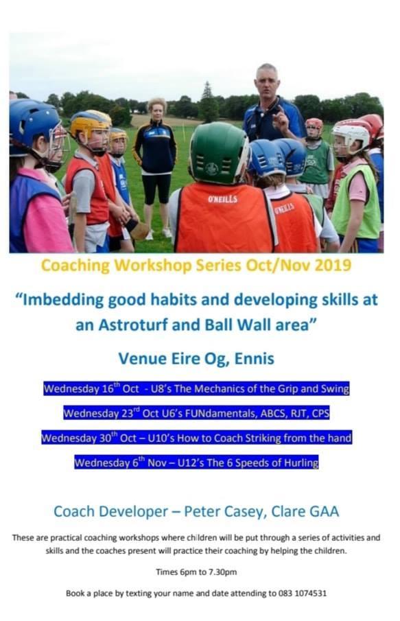 Kelloggs GAA Cul Camps Job Applications - Clare GAA