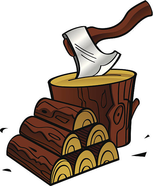 Firewood clipart timber 1