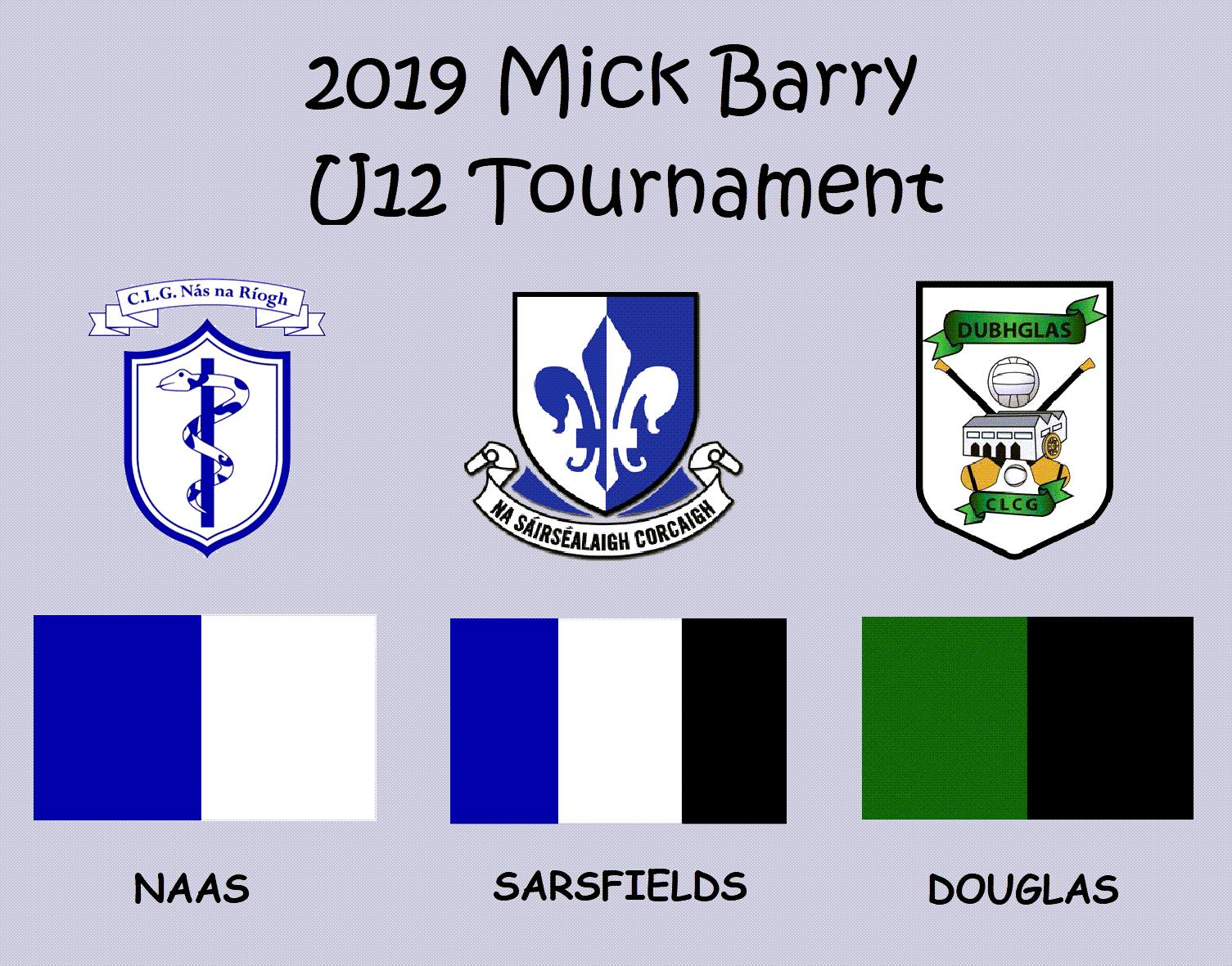 Mick 20barry 20u12 20tournament