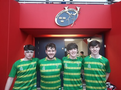 Killarney RFC represented with pride on Kerry U17's team