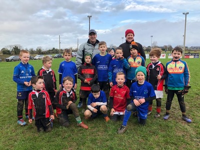 Killarney RFC Minis enjoy trip to Tralee RFC for West Munster Blitz