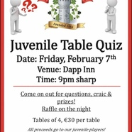 Table 20quiz 20poster