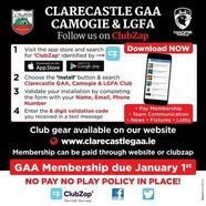 Clarecastle 20gaa clubzap 20sign