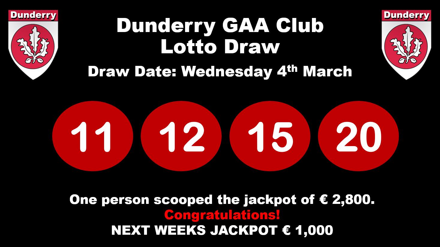 Lotto 20march 204