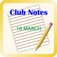 Notes 2016 20march