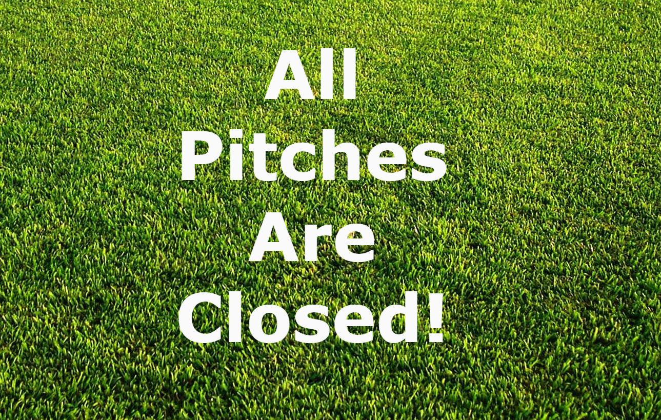 Pitch closed