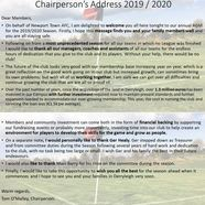 Chairman's 20address 202020