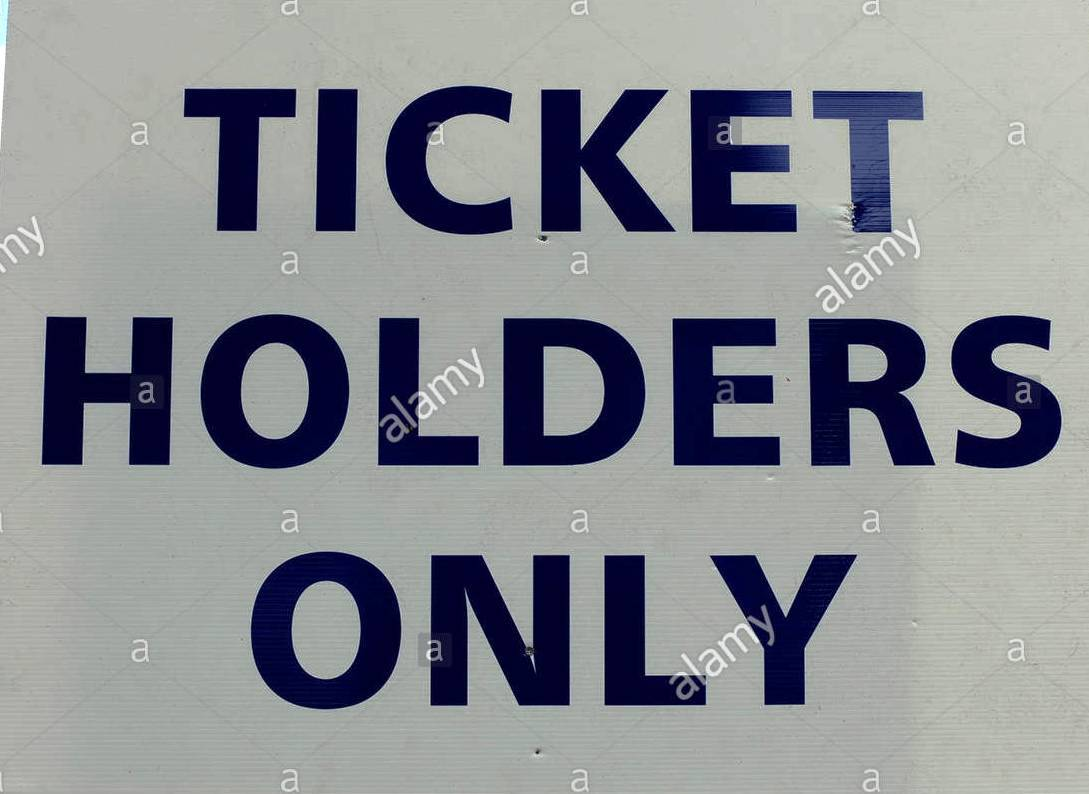 The hove county ground home to sussex cricket team with a ticket holders bcek5k