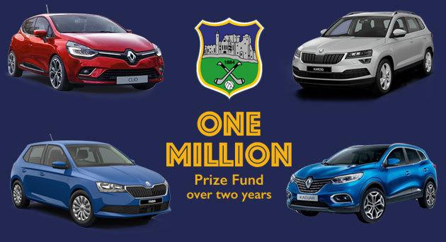 Tipp draw 1 million prize fund