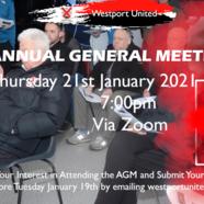 Westport 20united 20agm
