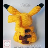 Patrón amigurumi de Pikachu   Patrones amigurumi, Amigurumi ...   192x192
