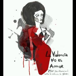 La violencia no es amor