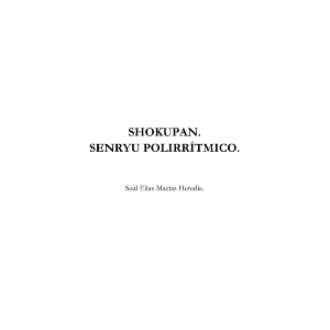 Shokupan (Senryu Polirrítmico)