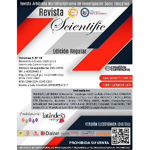 Revista Scientific - Vol 5 - N 18 - Noviembre-Enero 2020-2021
