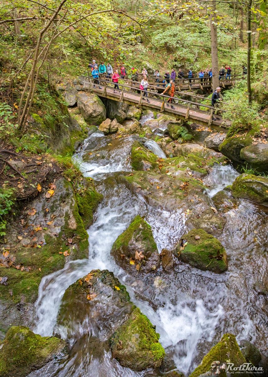 Myrafälle-vízesés és a Hohe Wand Hohe Wand, Ausztria