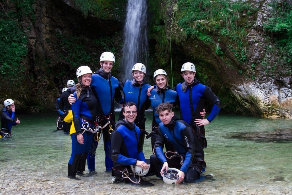 Best Canyoning in Lake Bled Bled, Triglav NP, Slovenia