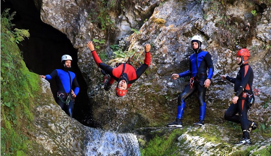 Best Canyoning in Lake Bled
