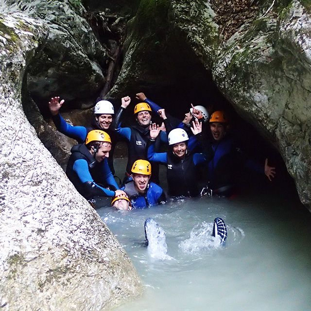 💦 Canyoning in Bled Bled, Slovenia #93302e36-353a-4a0d-bcb8-9c16cb7d9364