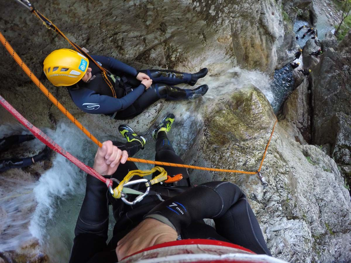 Canyoning - Susec Slowenien