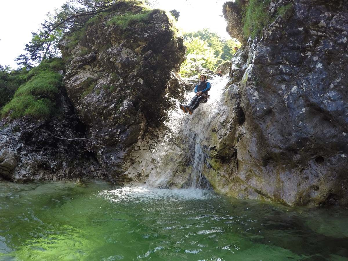 Canyoning Große Susec Slowenien #c0cb2e1f-addf-4a17-a4c1-3e9010eaa6b6