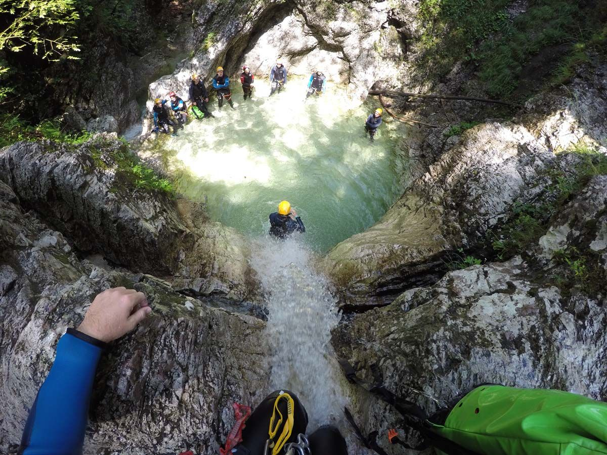 Canyoning Predelnica (1/2) Slovenia #ea9be32c-2653-4f45-a496-bede2118cf6f