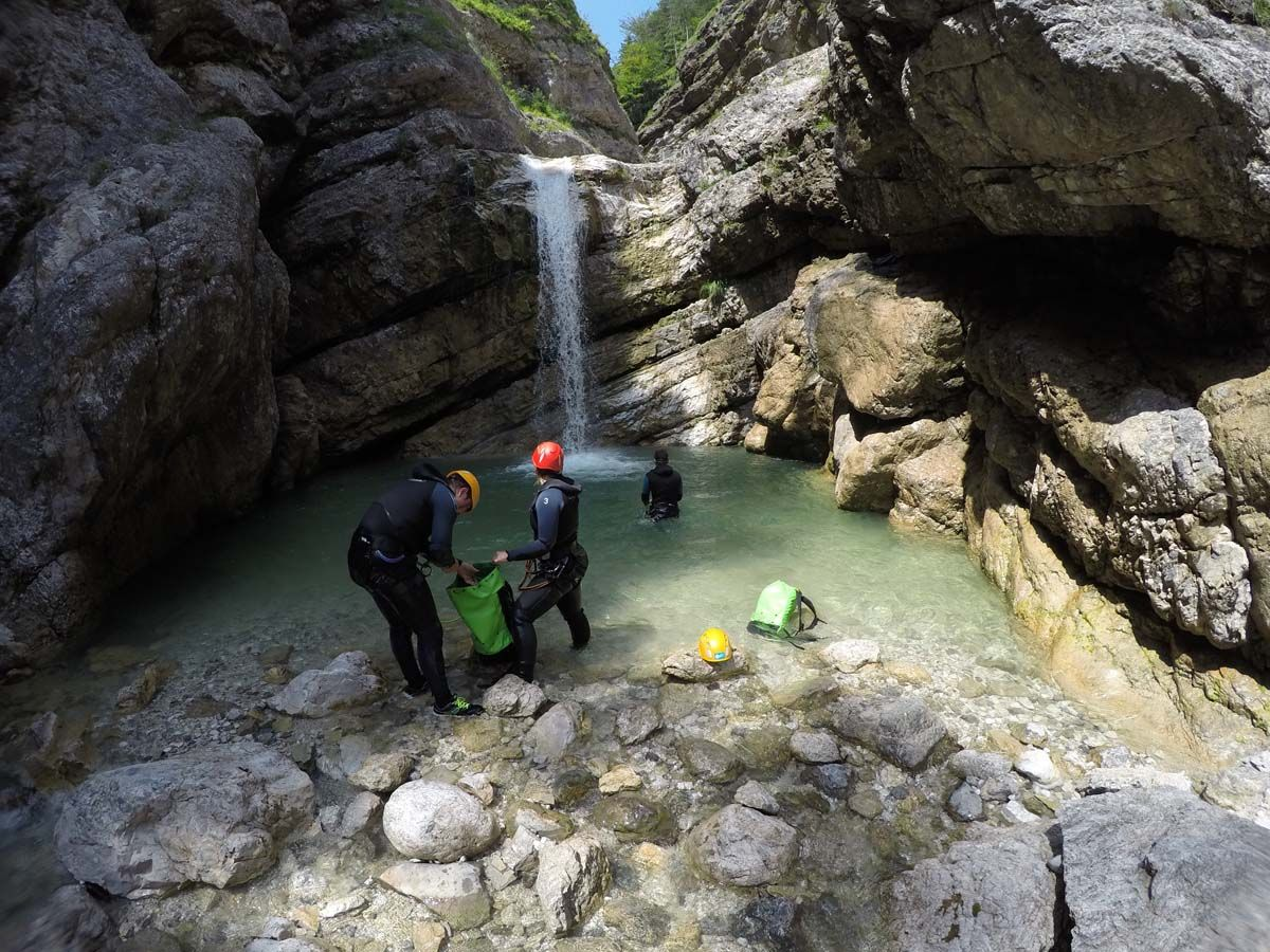 Canyoning Predelica (full) Bovec, Slovenia #cee89ed2-2856-4afb-96d9-4353f9d83805