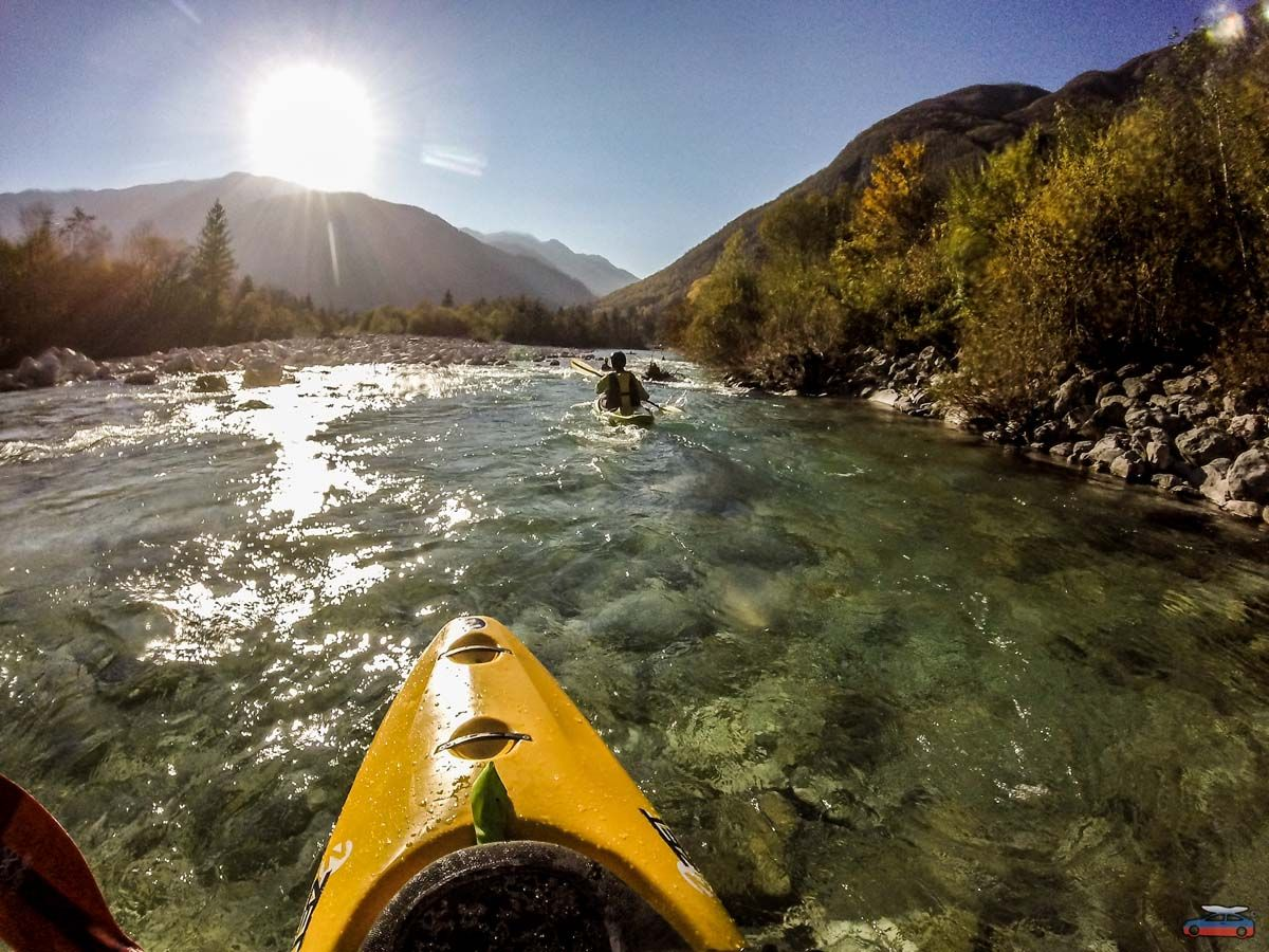 Kayak school and trips (2day) Slovenia