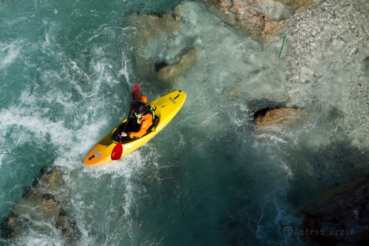 Guided kayak trip in Bovec Bovec, Slovenia