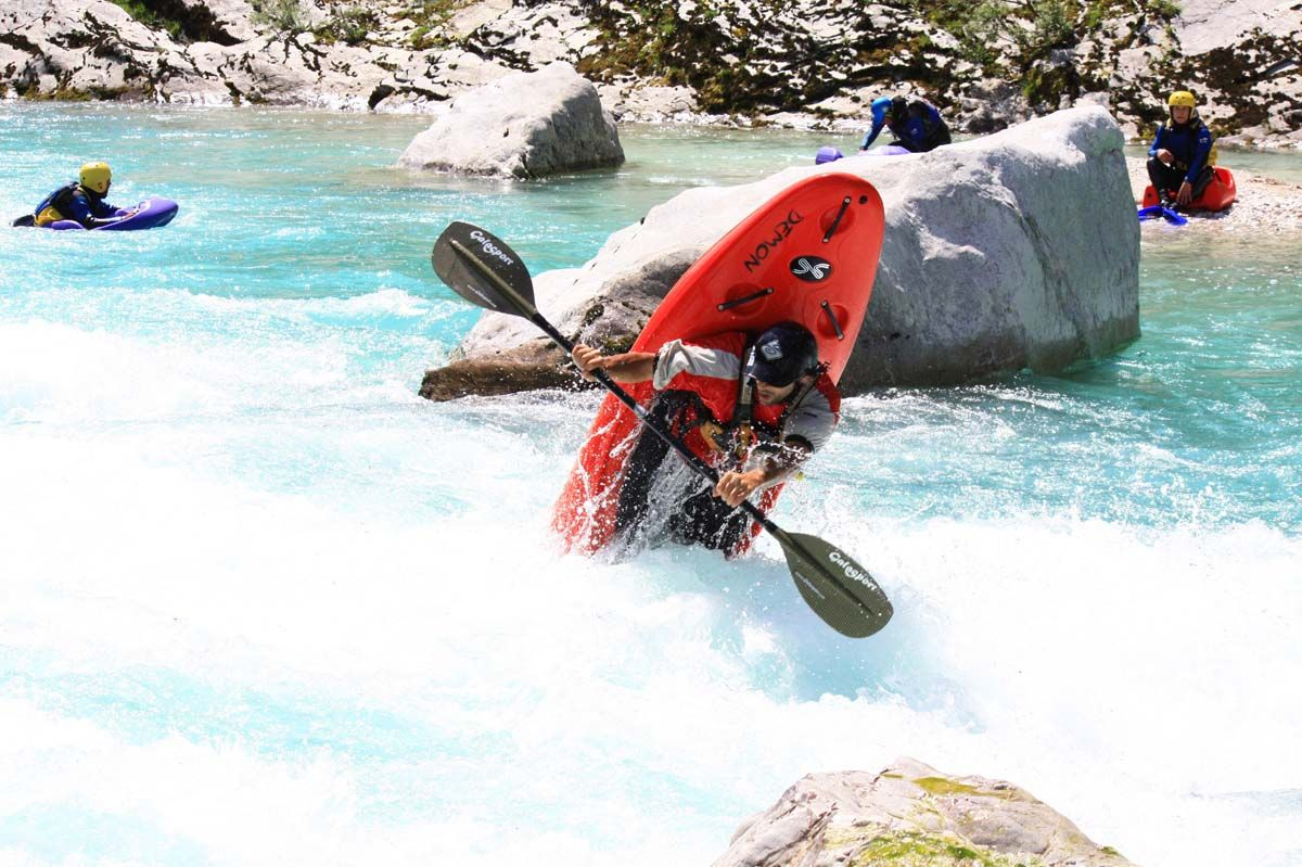 Guided kayak trip in Bovec Bovec, Slovenia #49eabde2-b516-410a-b3b7-13e4c80d3472