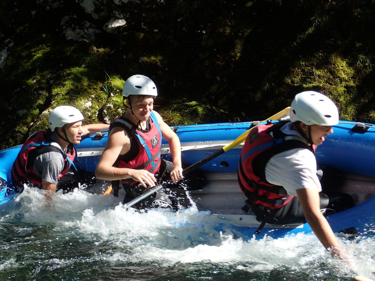 Mini Raft Tour From Bohinj Bohinj, Sava Bohinjka, Slovenia