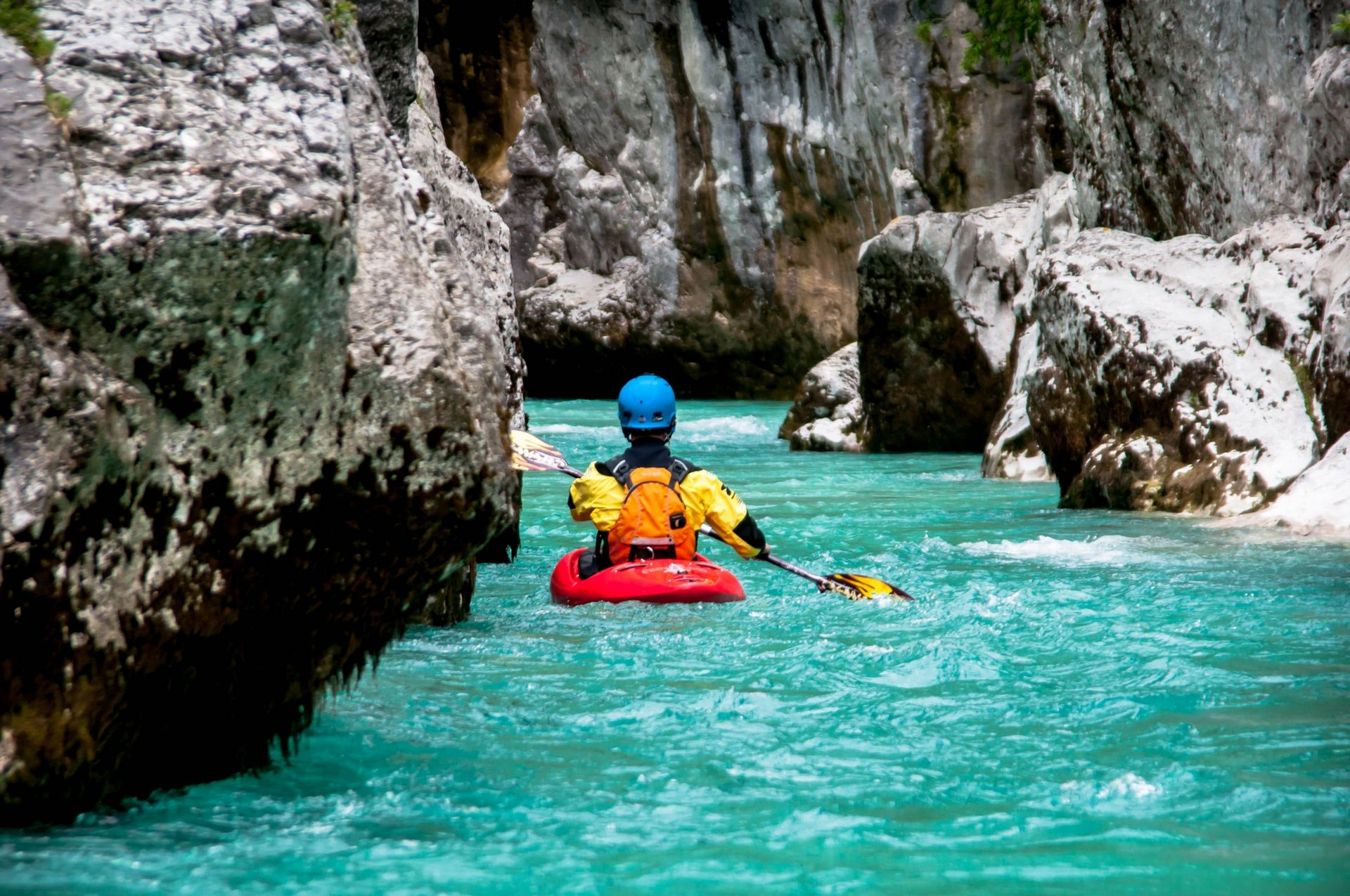 Kayak School in Bovec (1h) Bovec, Triglav National Park, Slovenia