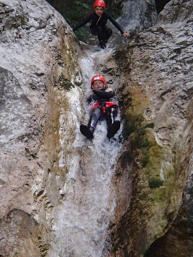 💦 Canyoning in Fratarica Canyon Bovec, Fratarica, Triglav Park, Slovenia #f3c6b373-0349-4665-b253-770d40db8a98