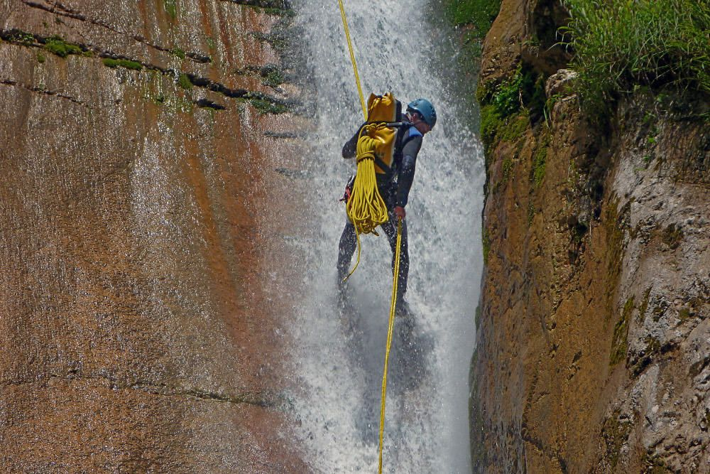 Canyoning Susec Bovec, Slowenien