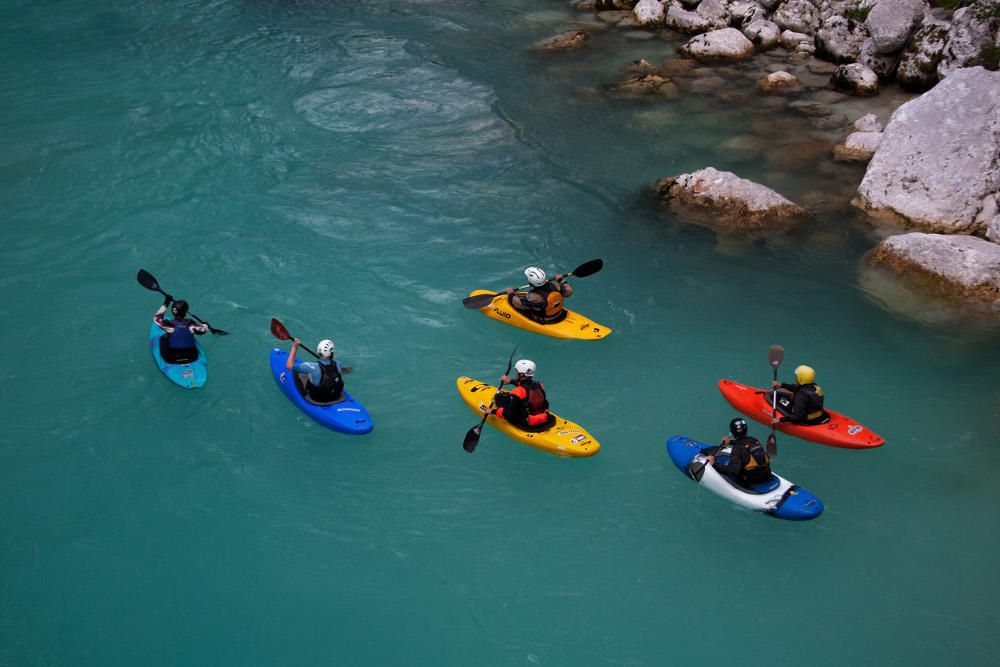 Guided kayak descent Bovec, Slovenia #daf193d1-7846-4ad4-bf57-3d476309a160