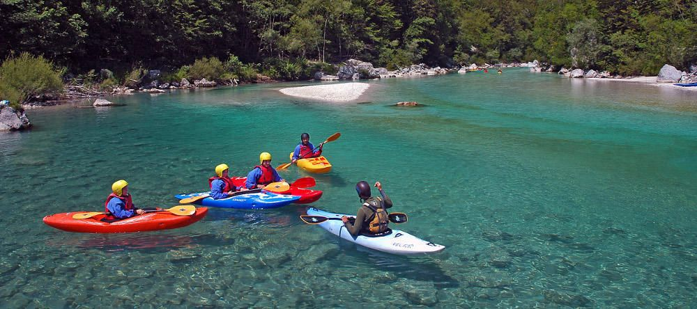 Soca River 2 day kayak course