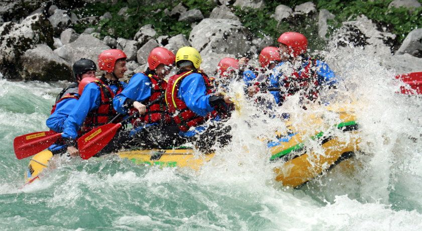Half day whitewater rafting Slovenia