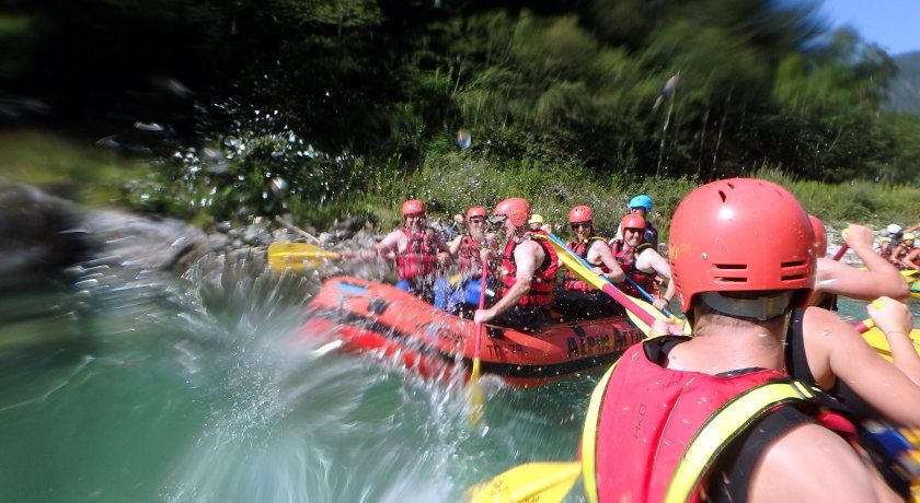 Half day whitewater rafting