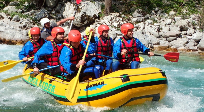 One day rafting trip in Bovec Bovec, Slovenia