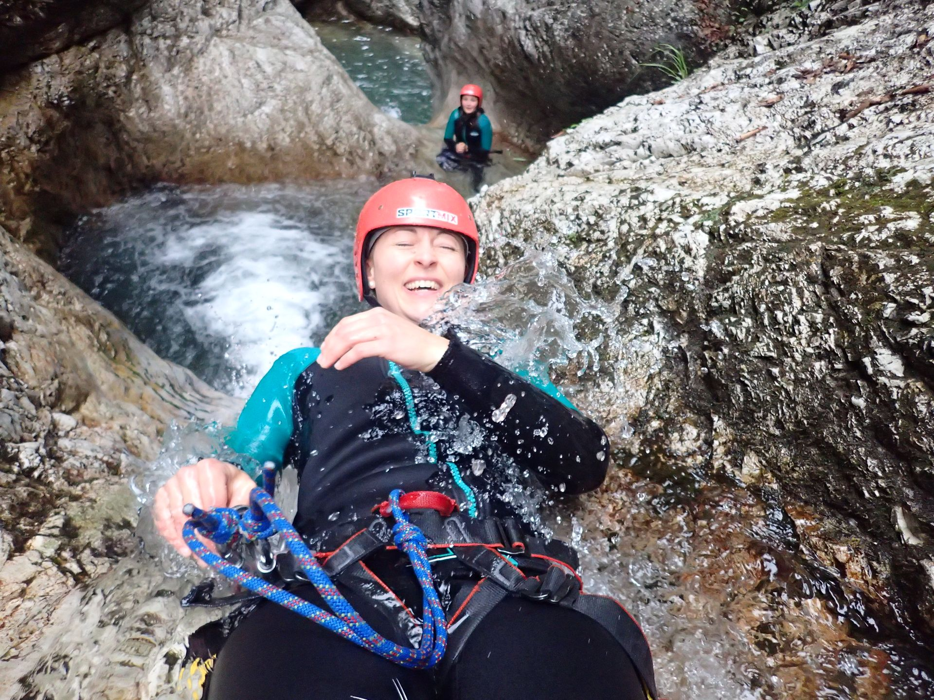 💦 Canyoning in Fratarica Canyon Bovec, Fratarica, Triglav Park, Slovenia