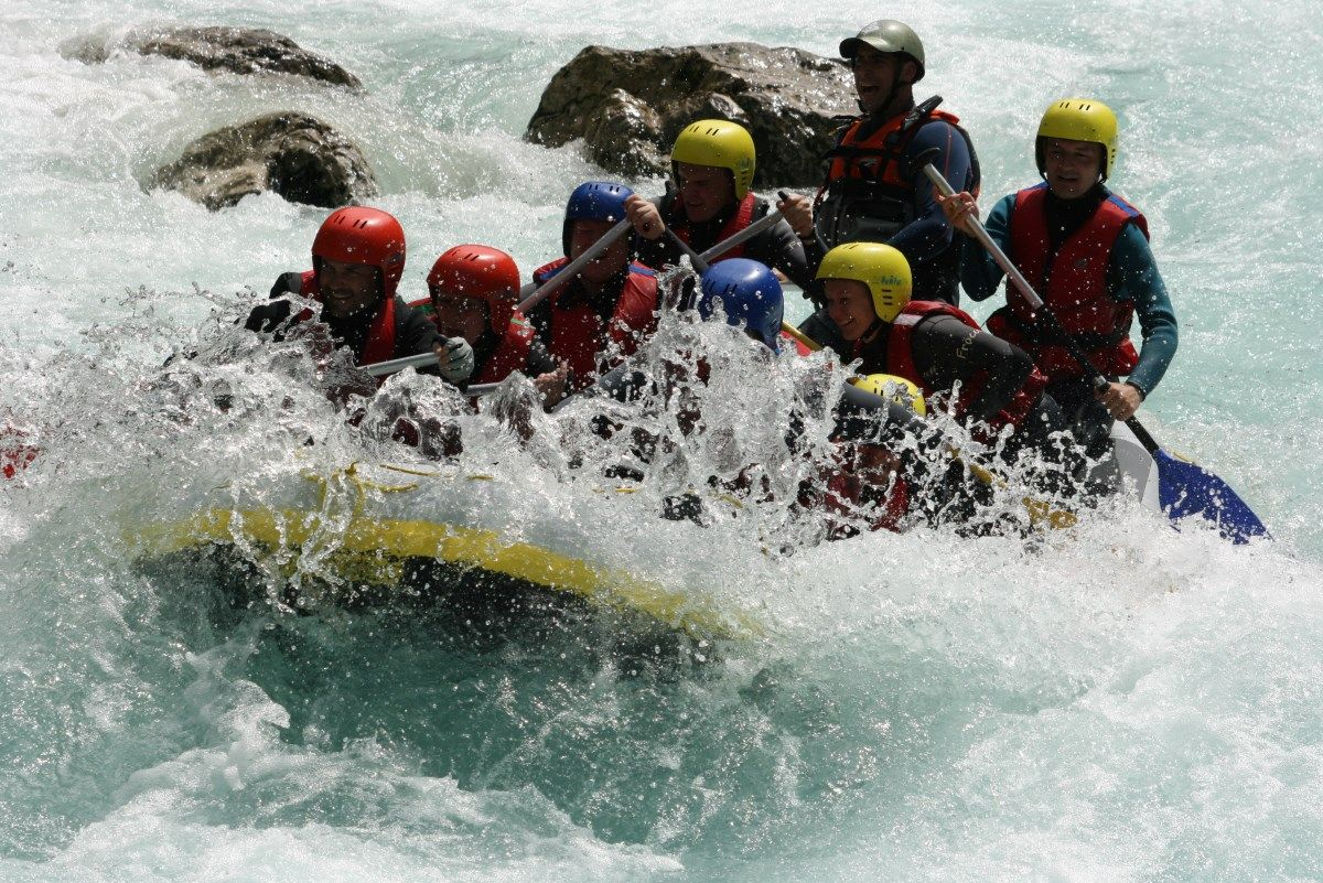 Rafting package on Soca (2 trips) Bovec, Slovenia