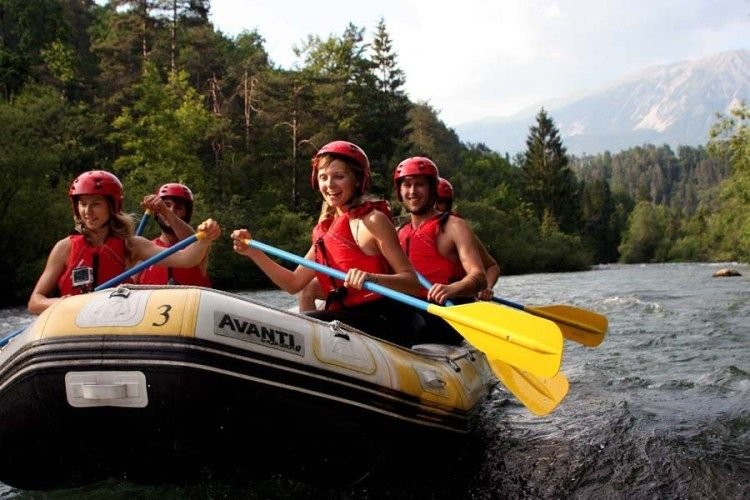 Canyoning & Rafting in Bled Bled, Triglav NP, Slovenia