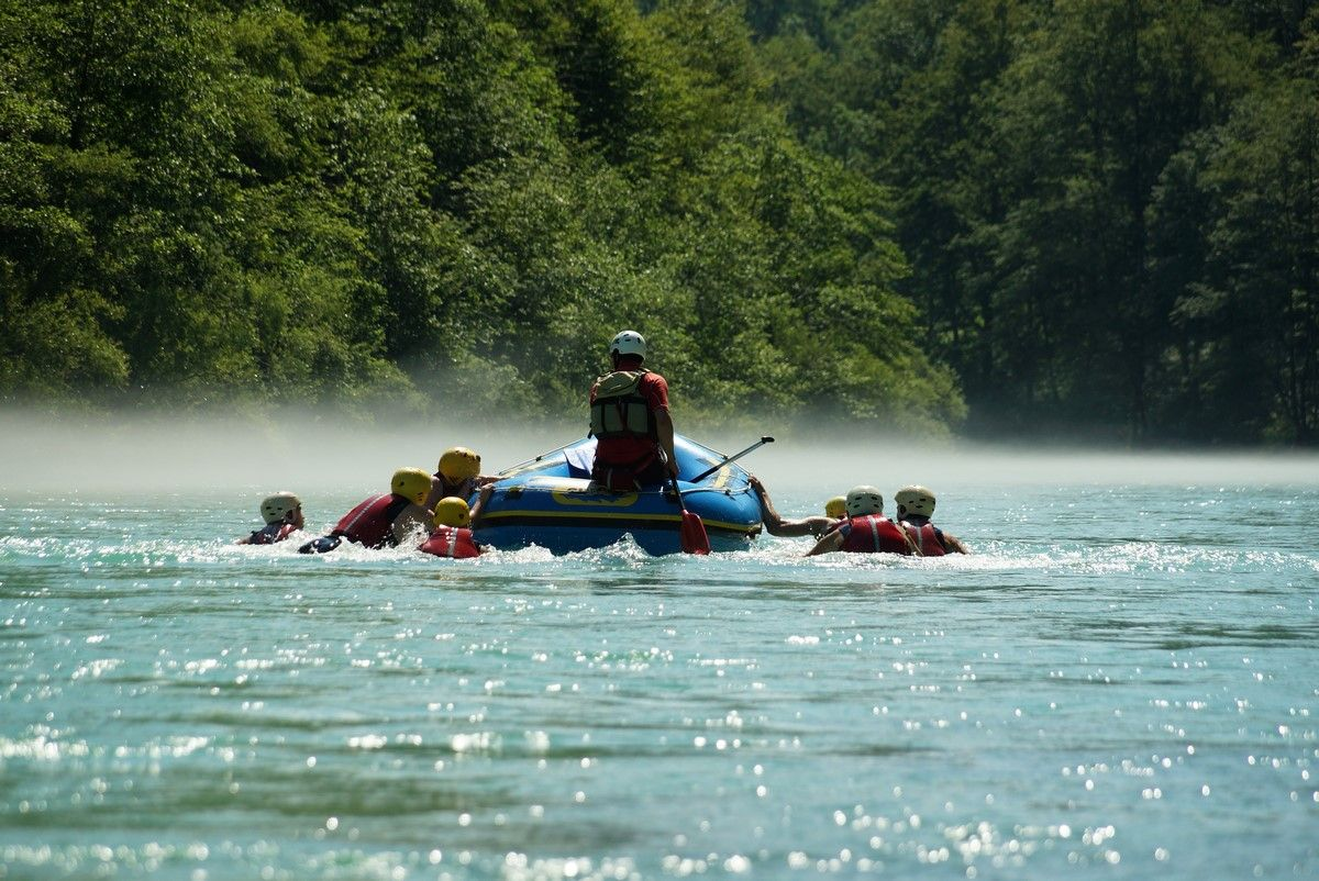 Full day rafting with a picnic Bovec, Slovenia