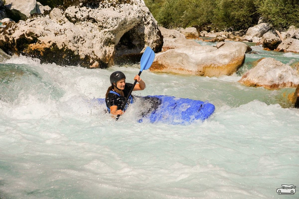 Kayak course in Bovec Bovec, Slovenia