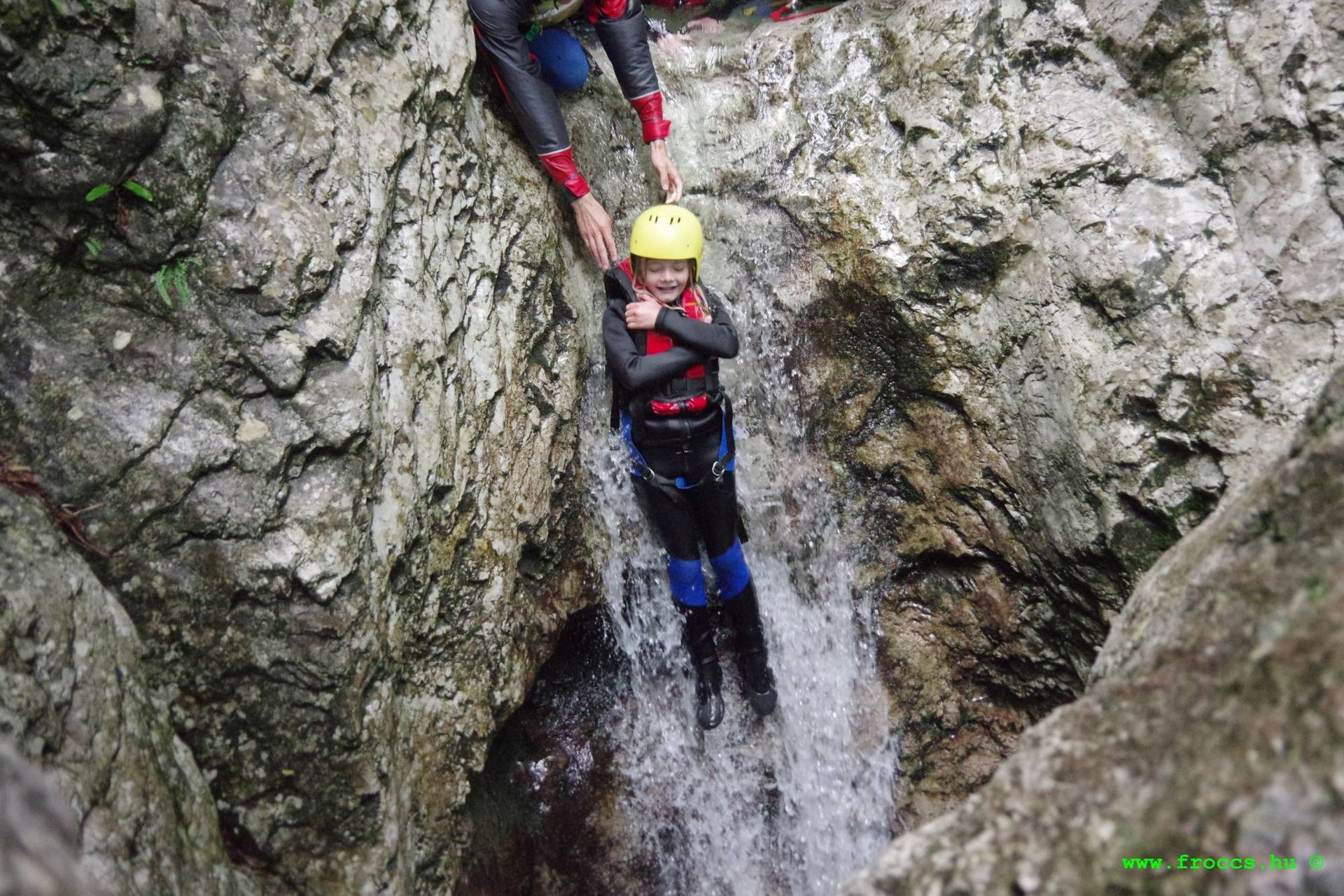 Canyoning in Susec Bovec, Slowenien #b6f29686-6d80-42bb-9222-056549c95e7e