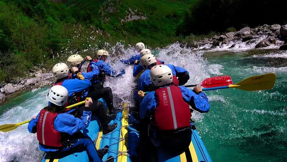 Half-day Rafting Trip in Bovec Bovec, Triglav National Park, Slovenia
