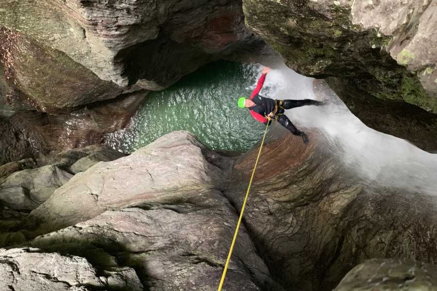 Extreme Canyoning in Kozjak and Fratarica Canyons Bovec, Fratarica, Triglav Park, Slovenia #d6205bfd-51bc-4cb5-b0e6-121be7f43608