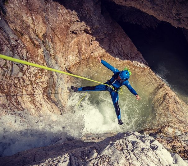 Canyoning in The Majestic Predelica - whole canyon Predelica Canyon, Triglav Park Slovenia #be6ab891-2c06-461c-a0ac-78349cc44a6d