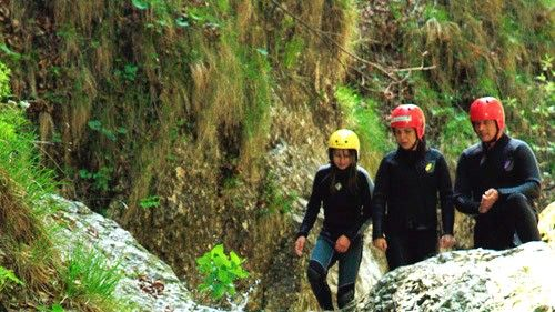 Canyoning tour in Bovec Slovenia #468597b3-4792-424c-ab85-218754c659a6